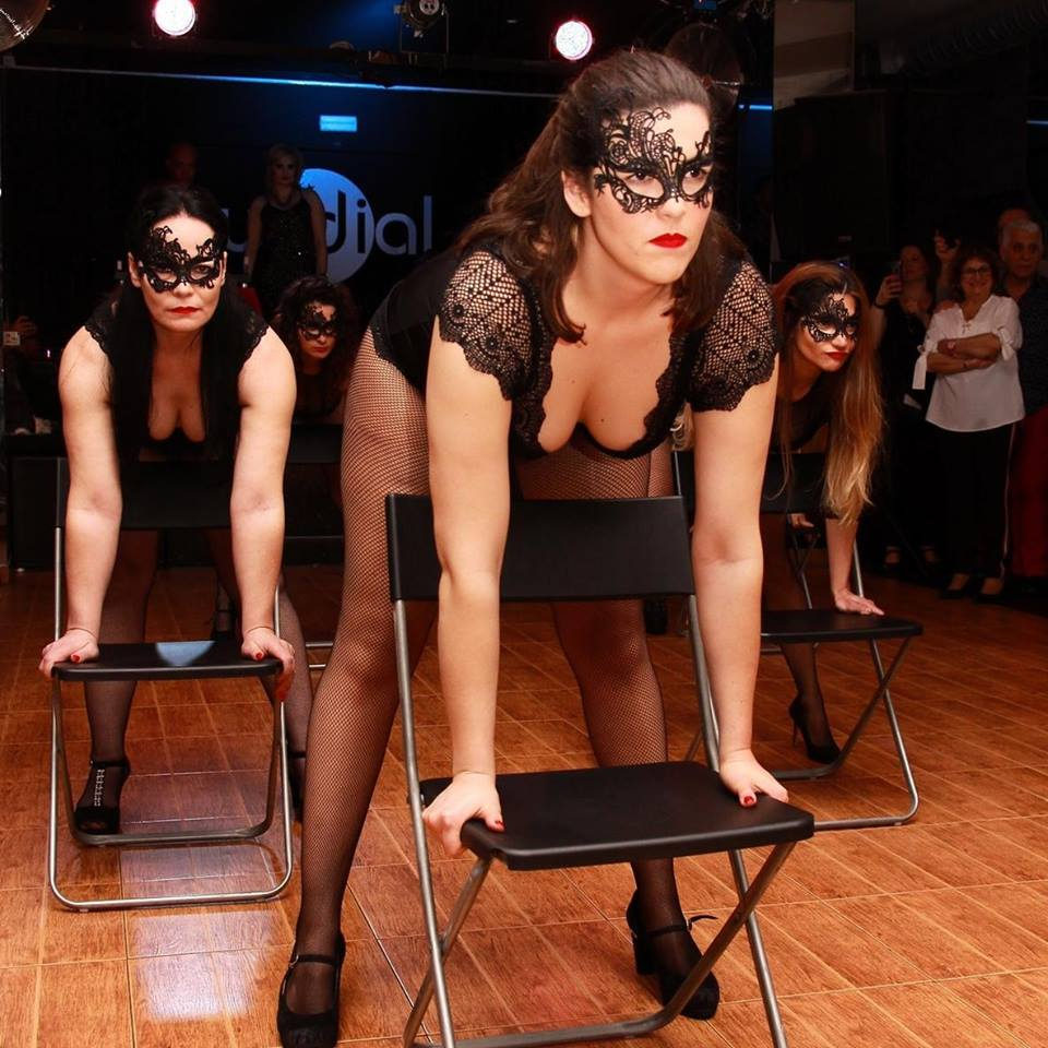 Chair Dance, Exotic Flow, Burlesque, Dance classes, Lisbon